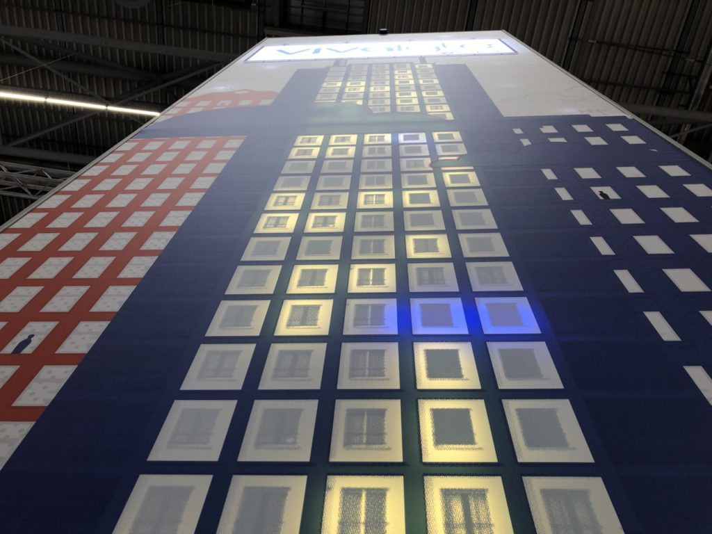 Vivalyte Magicor large format print interactive led wall
