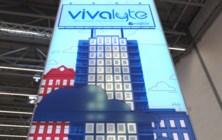 Vivalyte Magicor large format interactive led wall