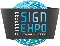 Vivalyte dynamic lightbox interactive wall on FESPA/ESE 2021